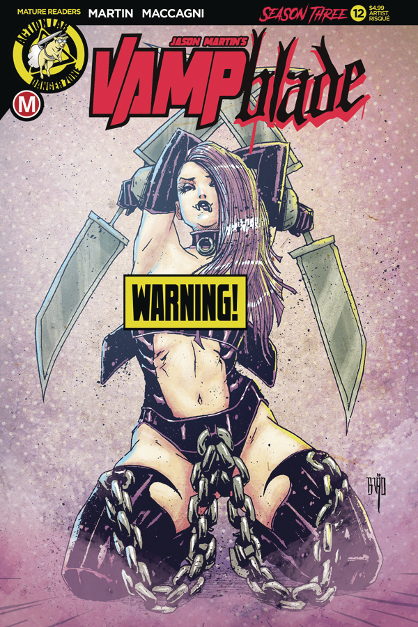 VAMPBLADE SEASON 3 #12 CVR D BRAO RISQUE (MR)