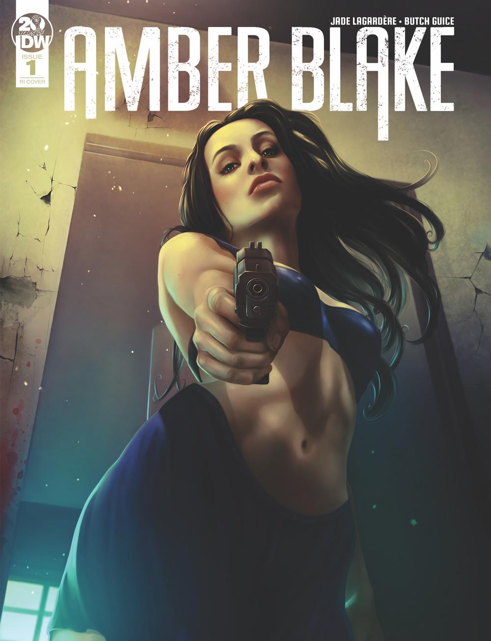 AMBER BLAKE #1 10 COPY INCV NODET