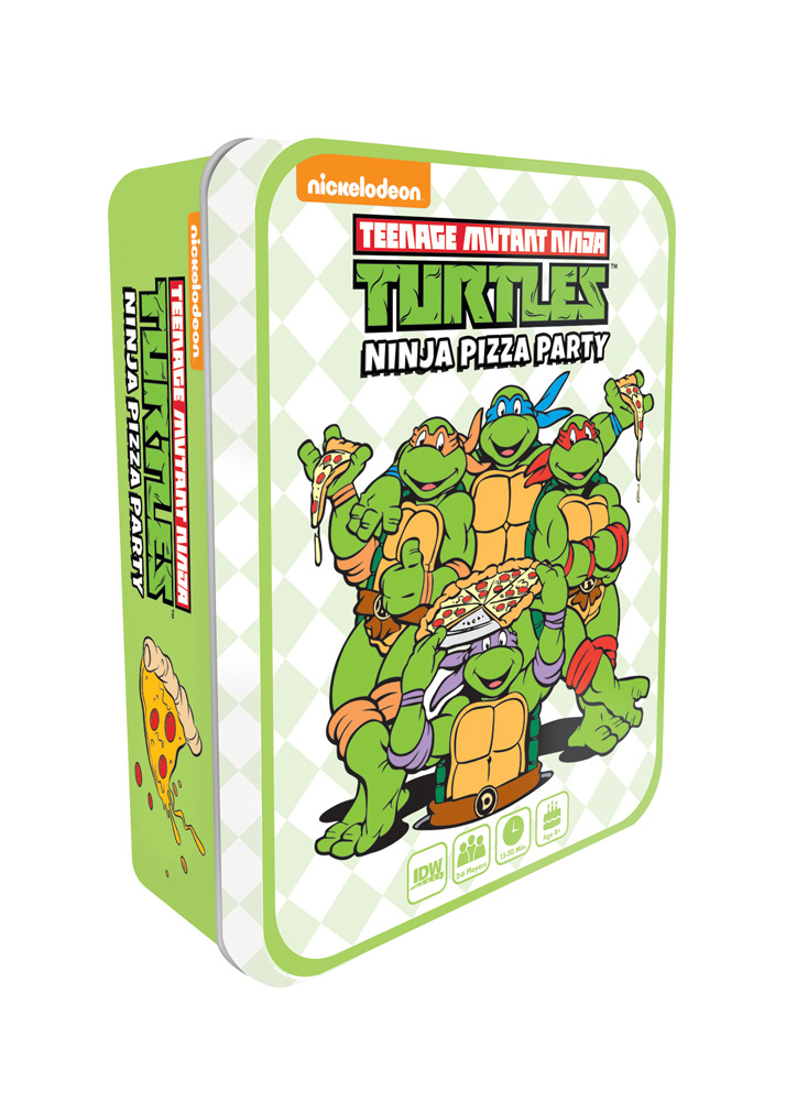 TMNT NINJA PIZZA PARTY