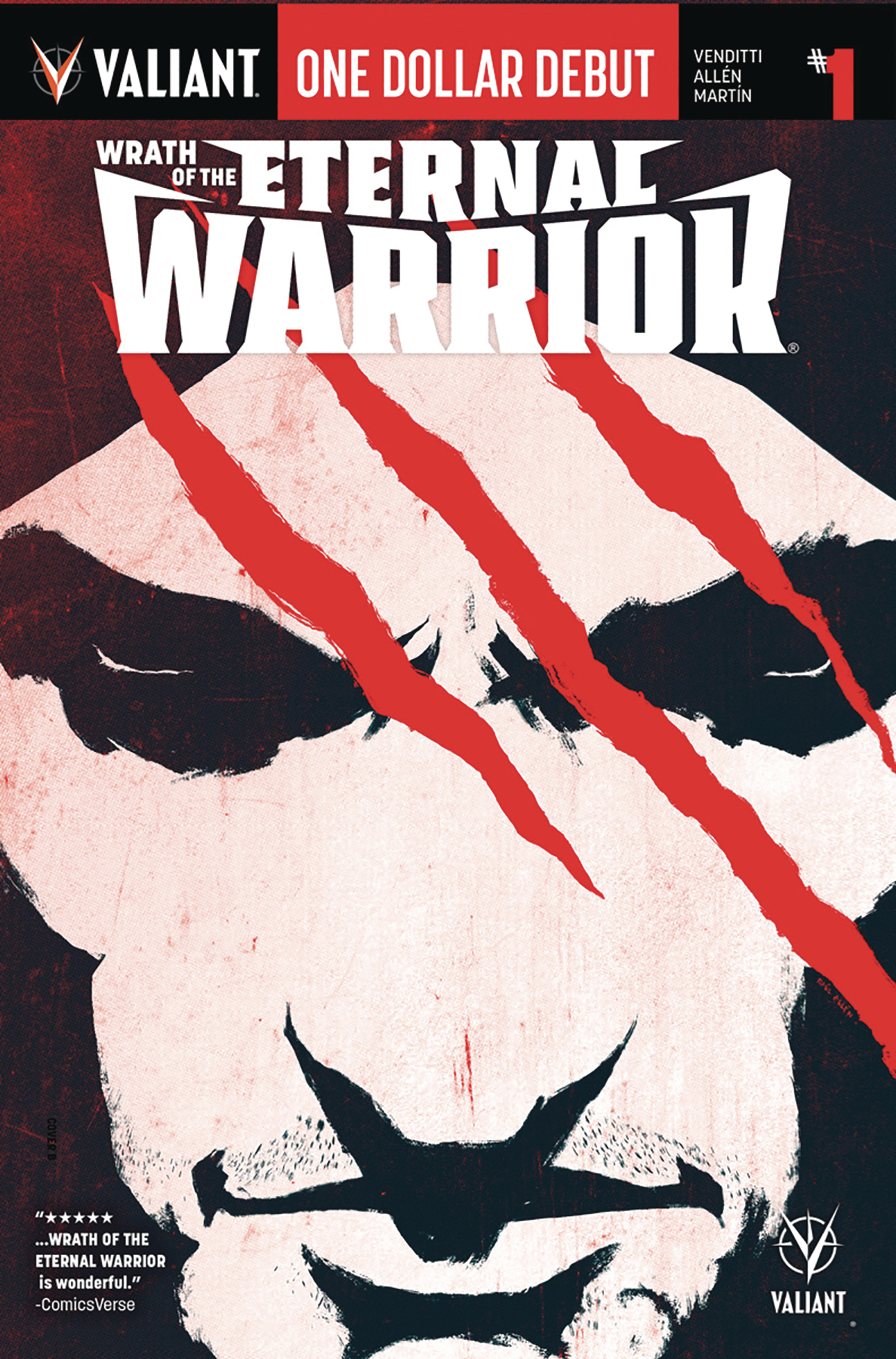 WRATH ETERNAL WARRIOR #1 DOLLAR DEBUT