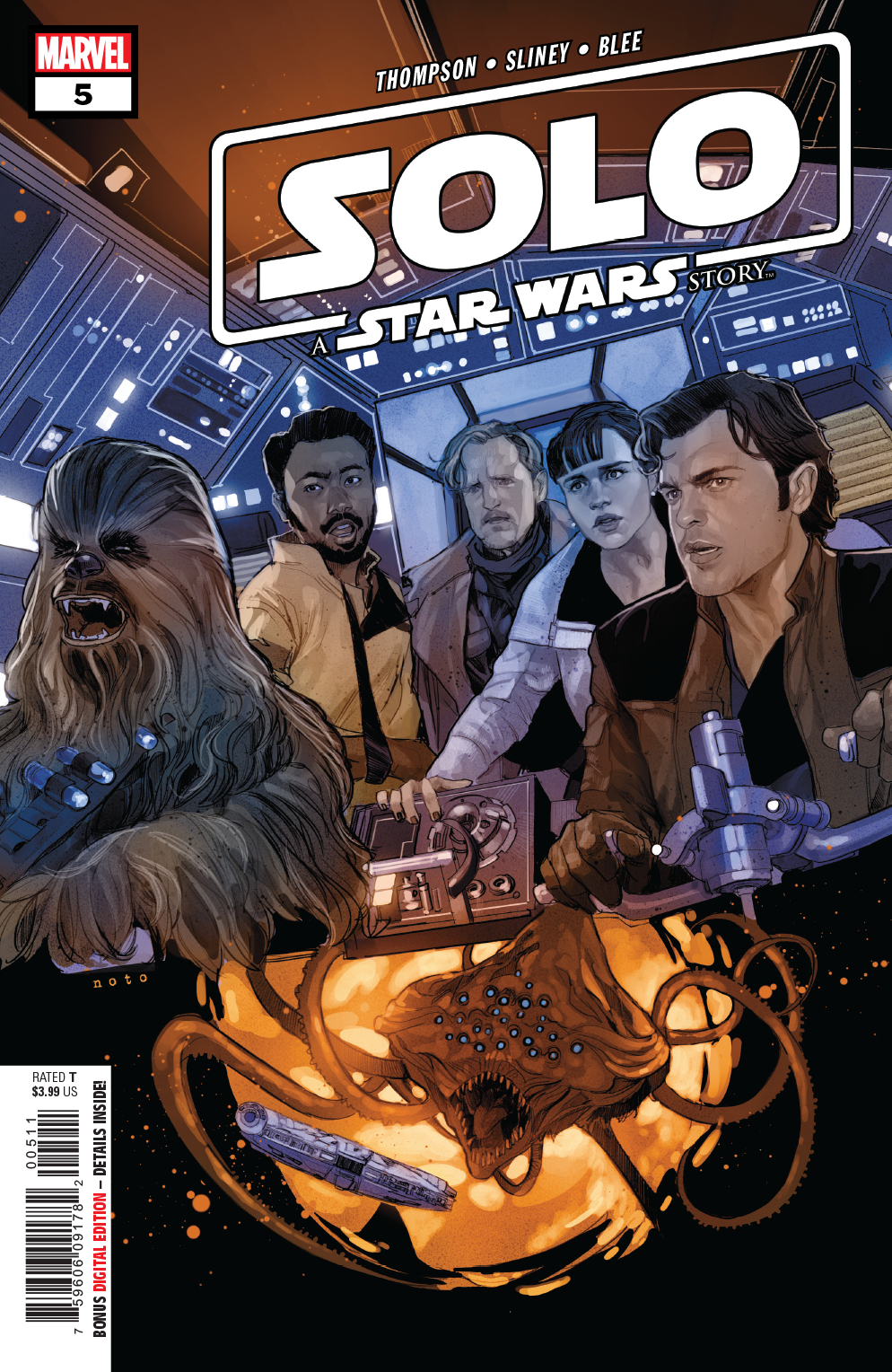 STAR WARS SOLO ADAPTATION #5 (OF 7)