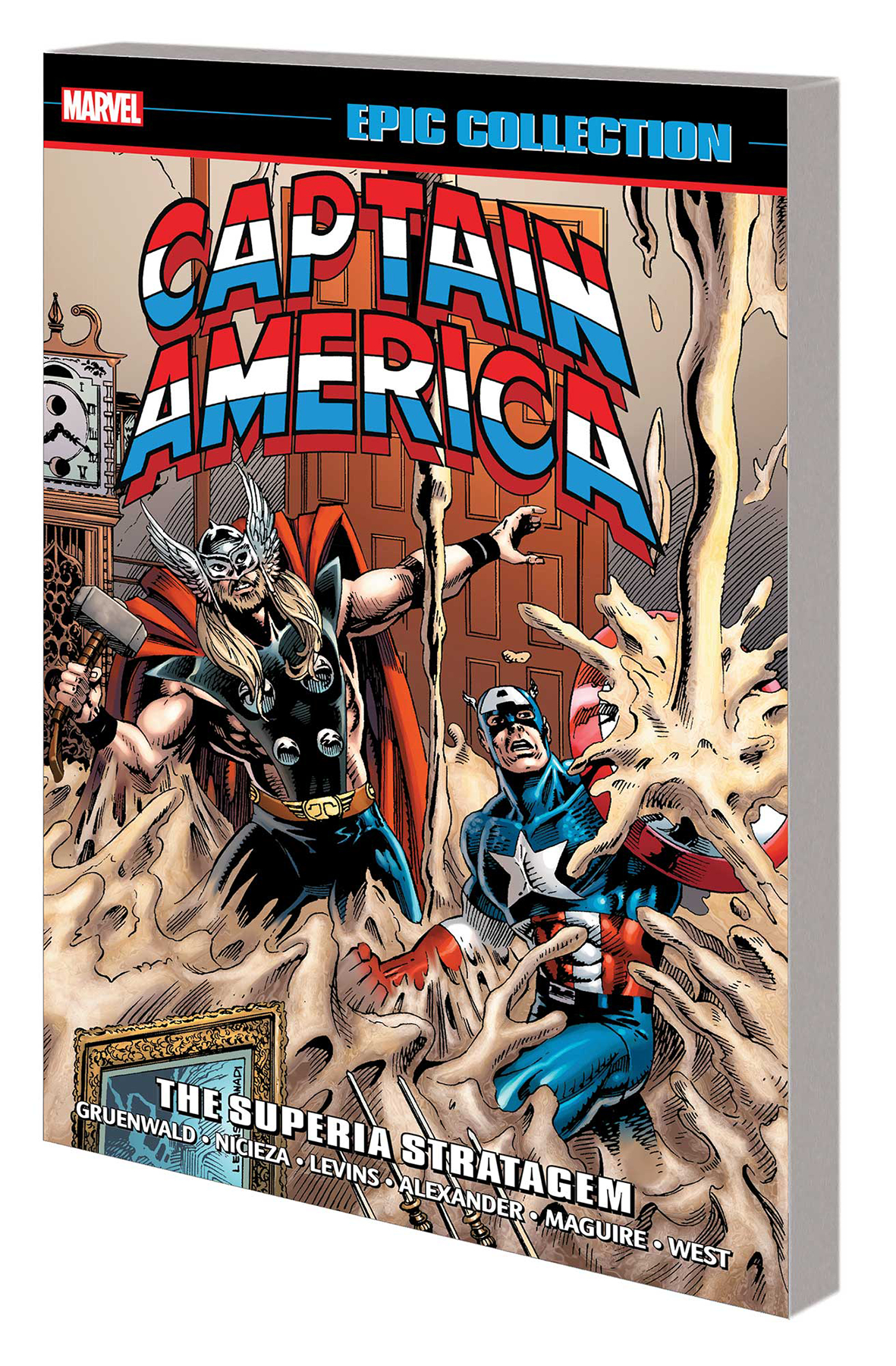 CAPTAIN AMERICA EPIC COLLECTION TP SUPERIA STRATAGEM