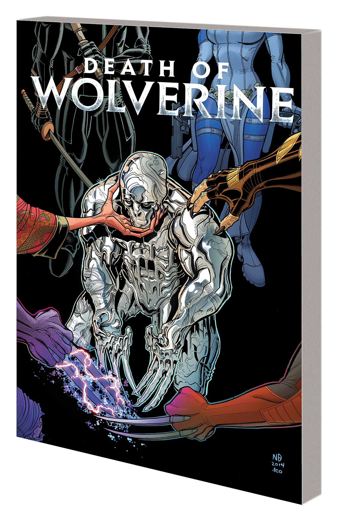 DEATH OF WOLVERINE COMPANION TP