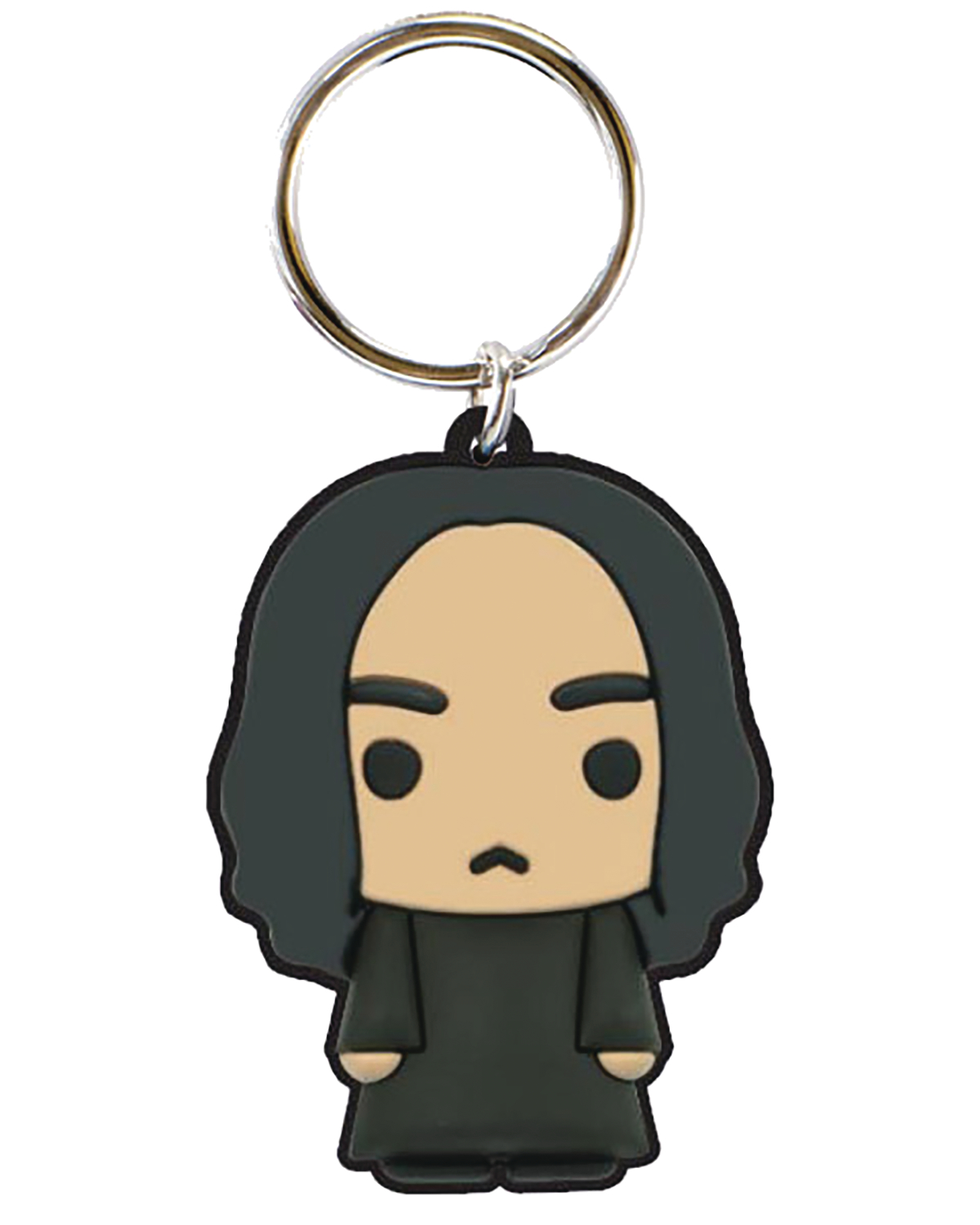 HARRY POTTER SNAPE SOFT TOUCH PVC KEY RING
