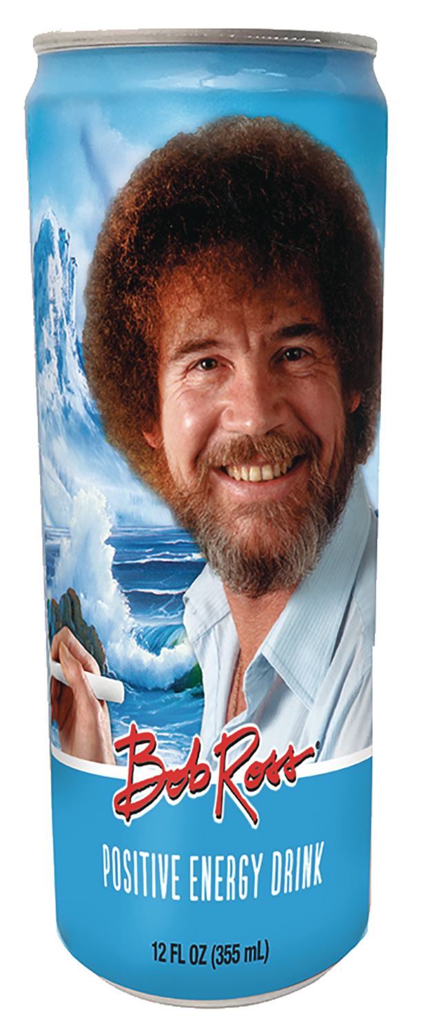 BOB ROSS POSITIVE ENERGY DRINK CS