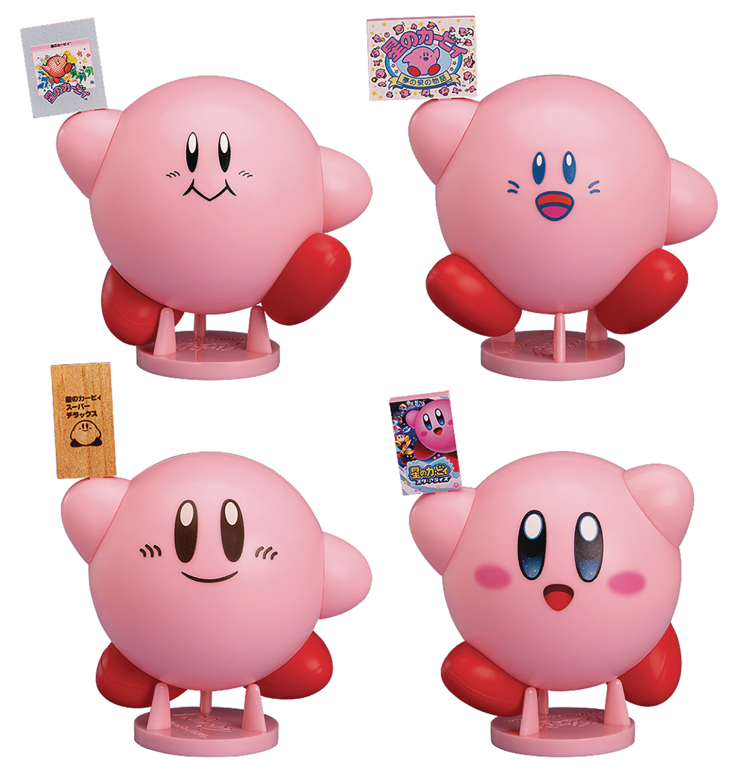 COROCOROID KIRBY 02 COLLECTIBLE FIGURE 6PC BMB DS
