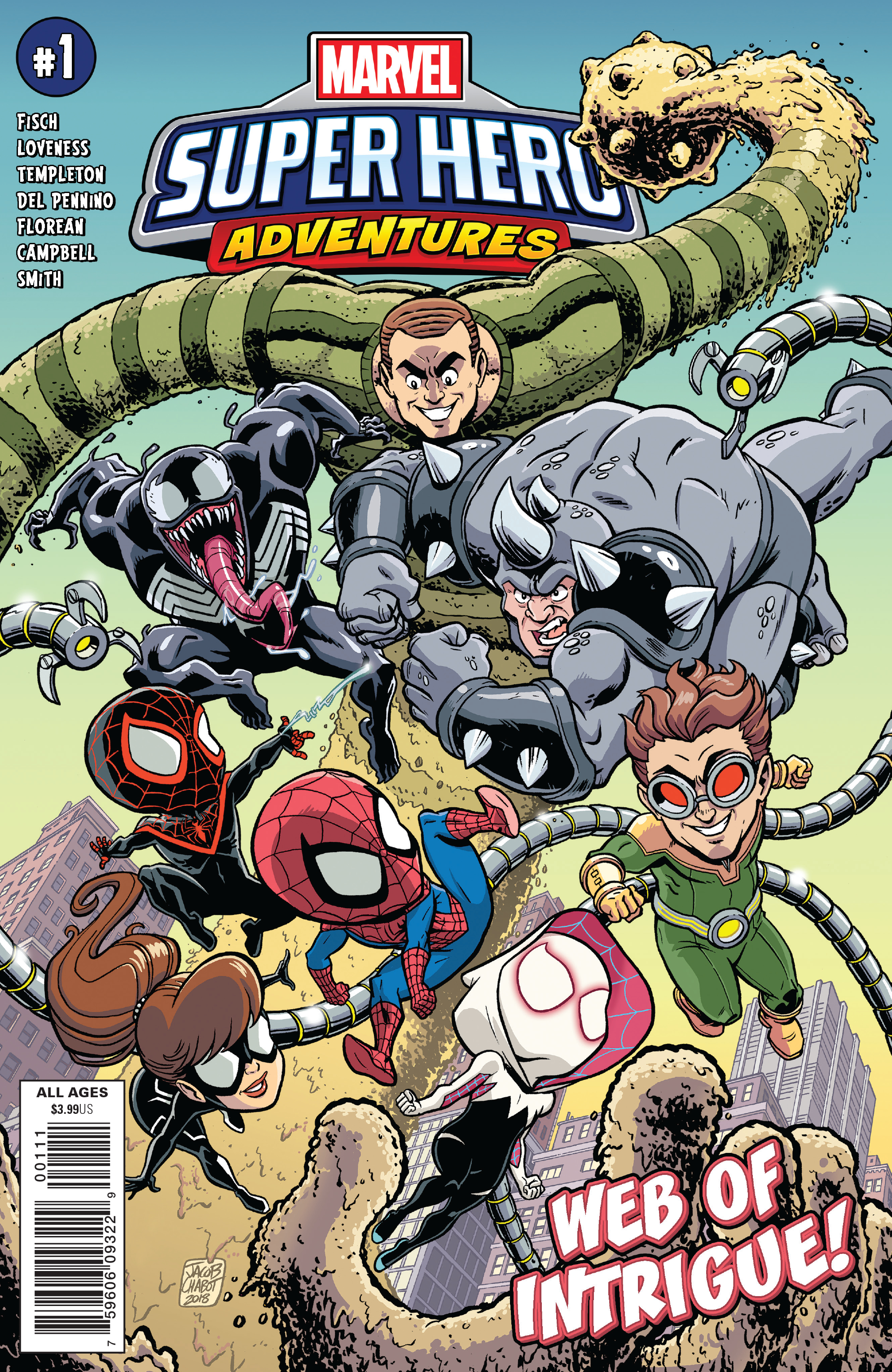 MSH ADVENTURES SPIDER-MAN WEB OF INTRIGUE #1