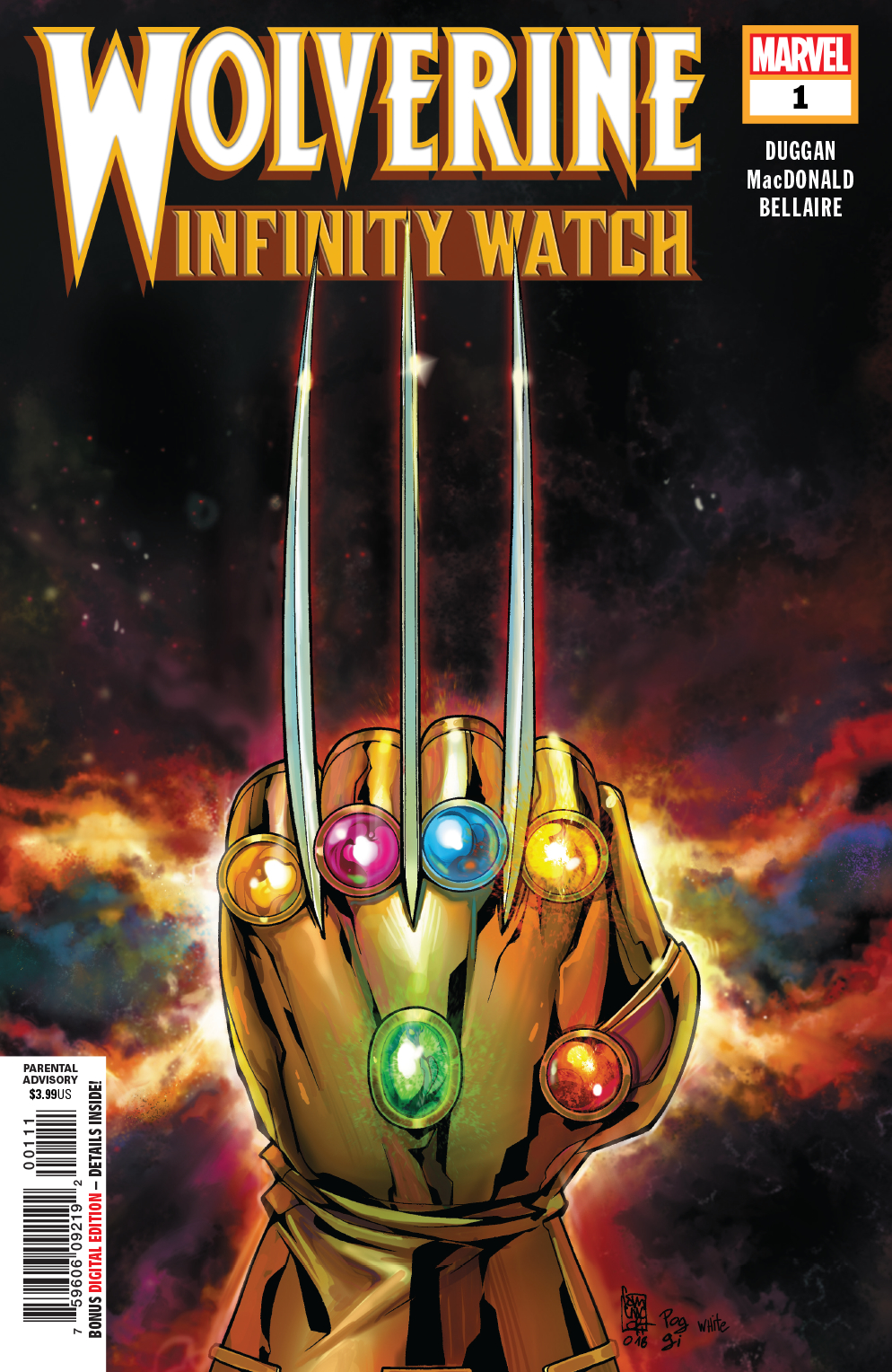 WOLVERINE INFINITY WATCH #1 (OF 5)