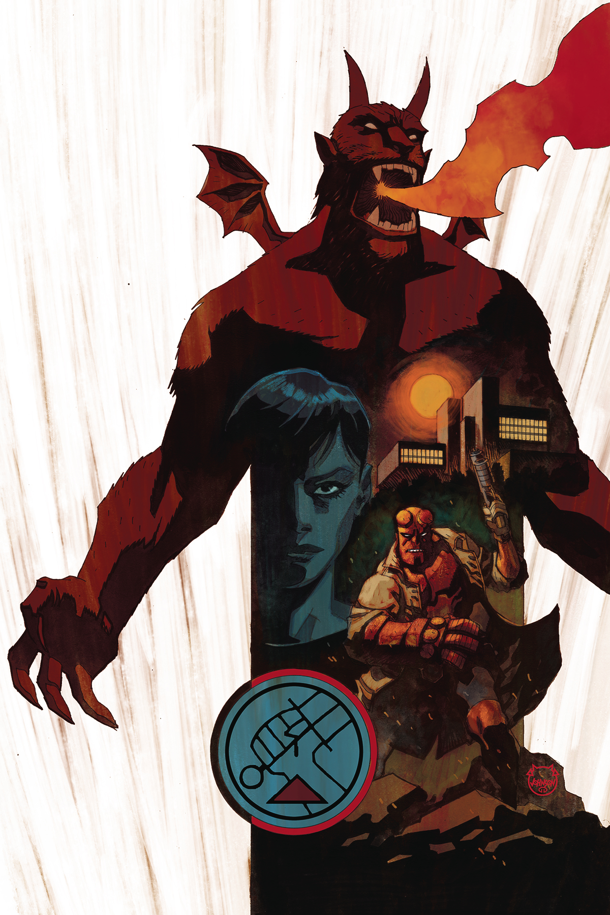 HELLBOY AND BPRD 1956 #4 (OF 5)