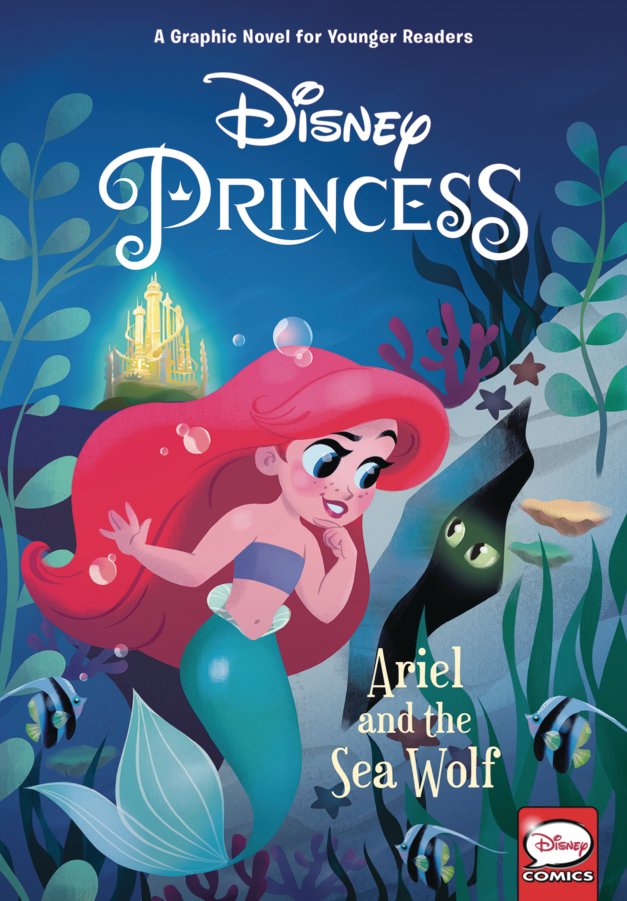 DISNEY PRINCESS HC ARIEL AND SEA WOLF (YOUNG READERS)