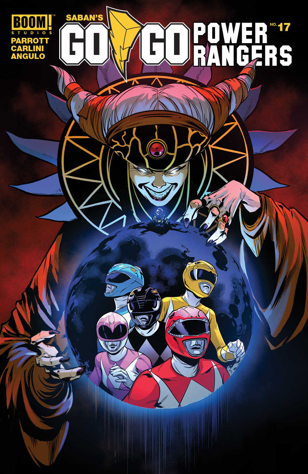 GO GO POWER RANGERS #17 MAIN & MIX