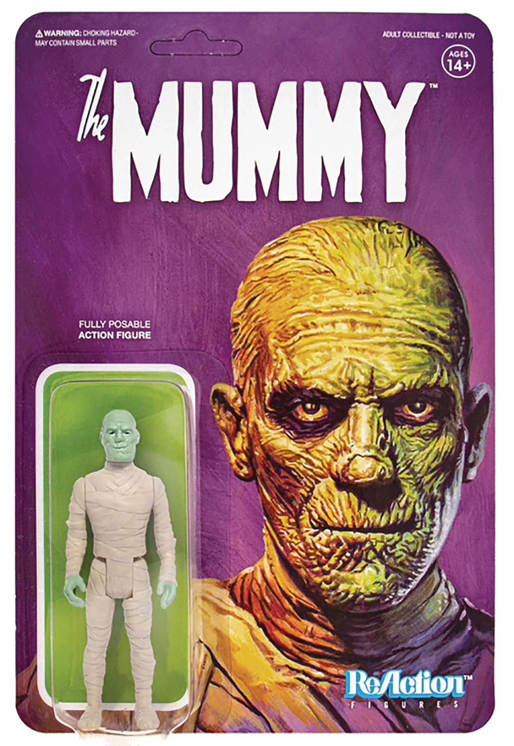UNIVERSAL MONSTERS MUMMY REACTION FIG (SEP188588)