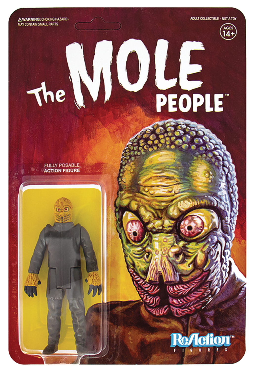 UNIVERSAL MONSTERS MOLE MAN REACTION FIG (SEP188587) (