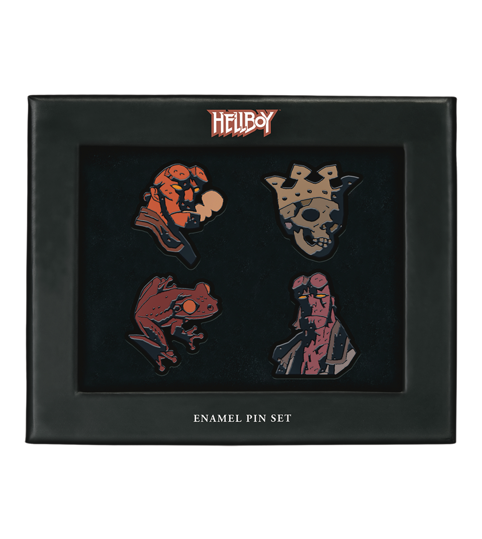 HELLBOY ENAMEL PIN SET