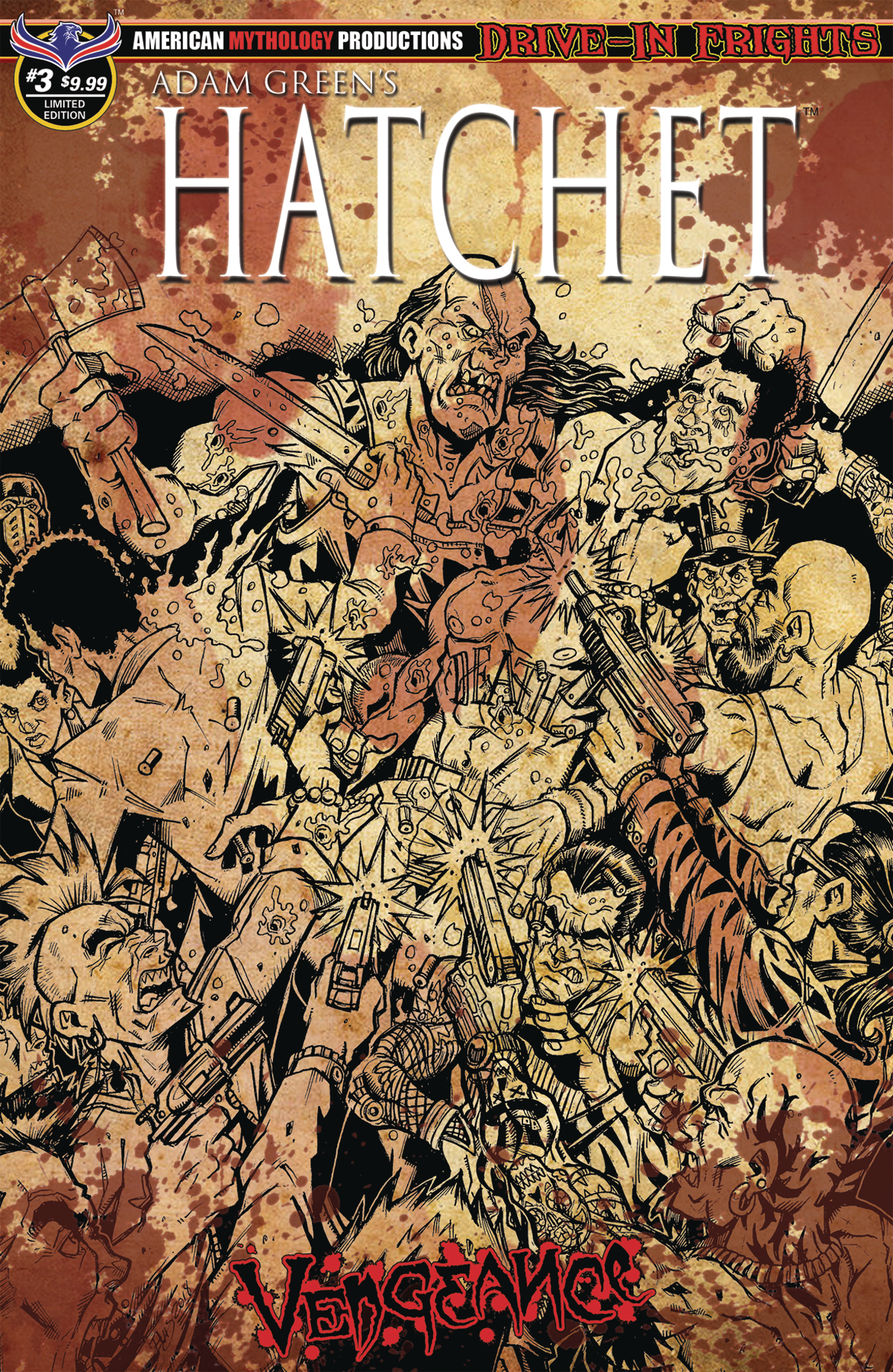 HATCHET VENGEANCE #3 BLOODY HORROR LTD ED CVR (MR)
