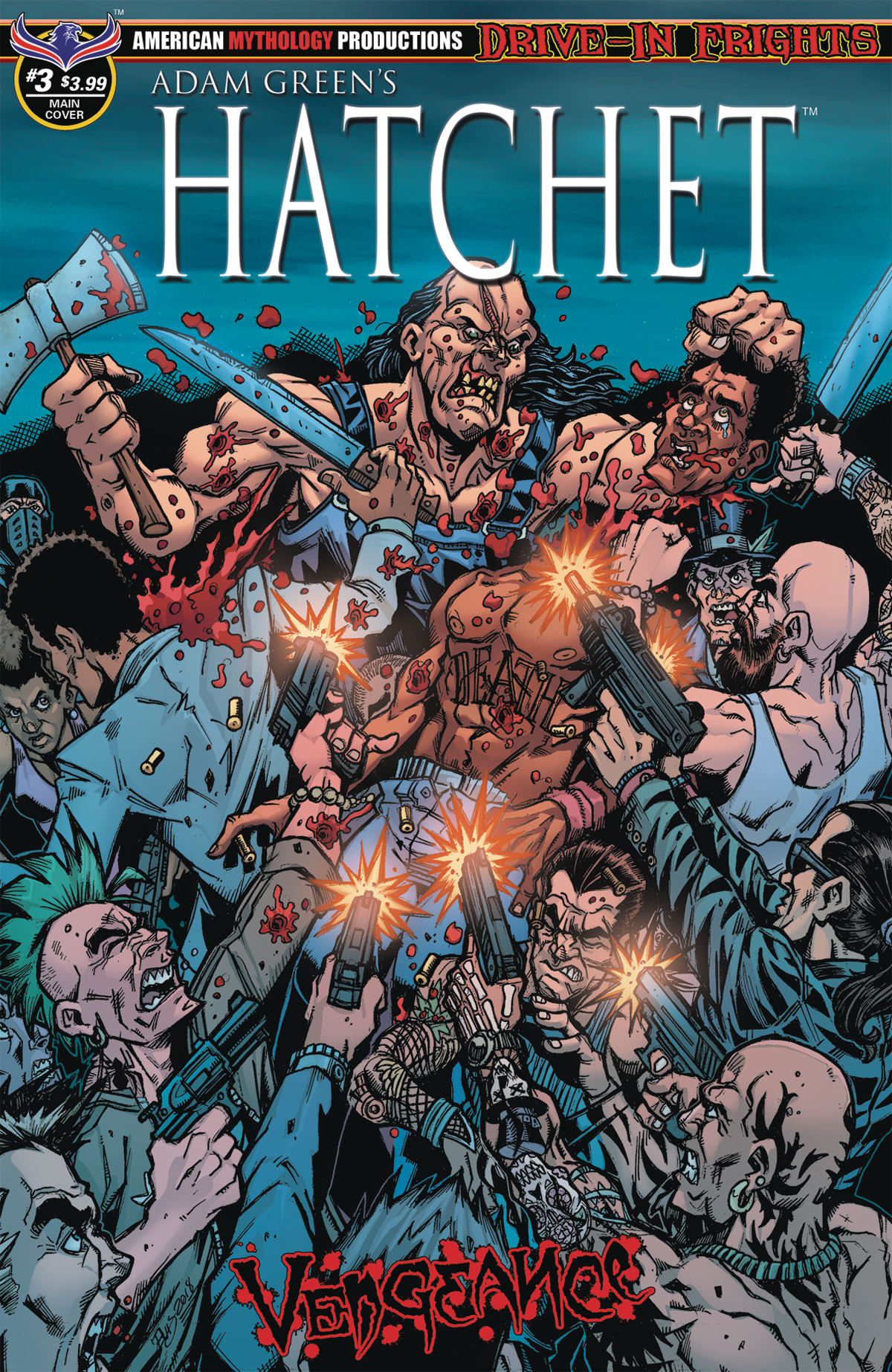 HATCHET VENGEANCE #3 SLAUGHTER CALZADA CVR (MR)