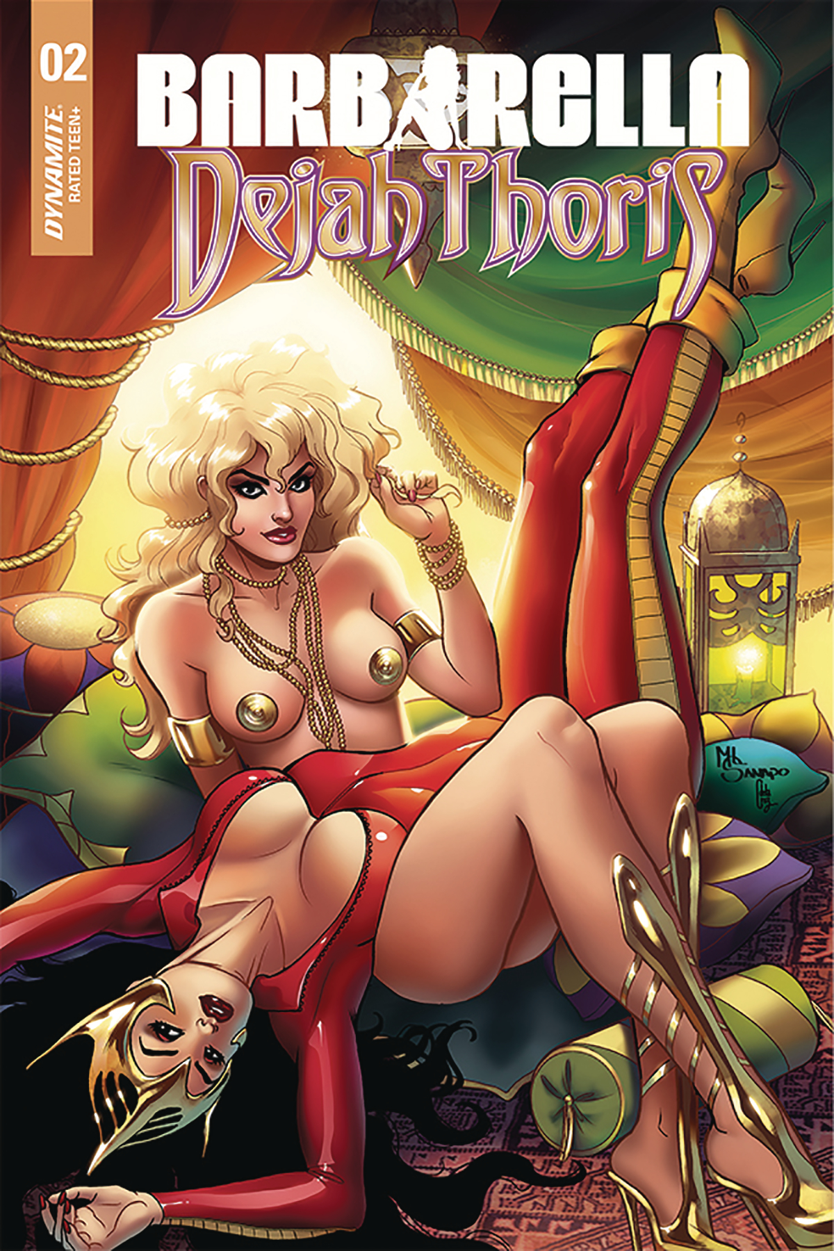 BARBARELLA DEJAH THORIS #2 10 COPY SANAPO SEDUCTION INCV (NE