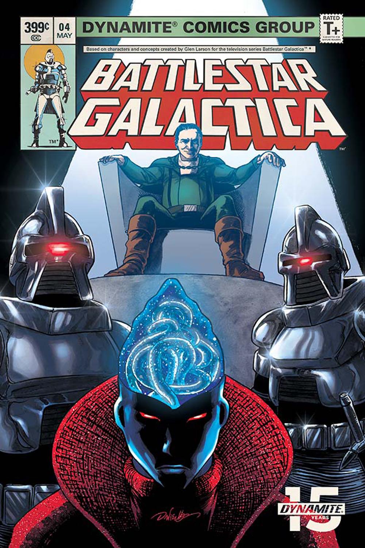BATTLESTAR GALACTICA CLASSIC #4 CVR B HDR