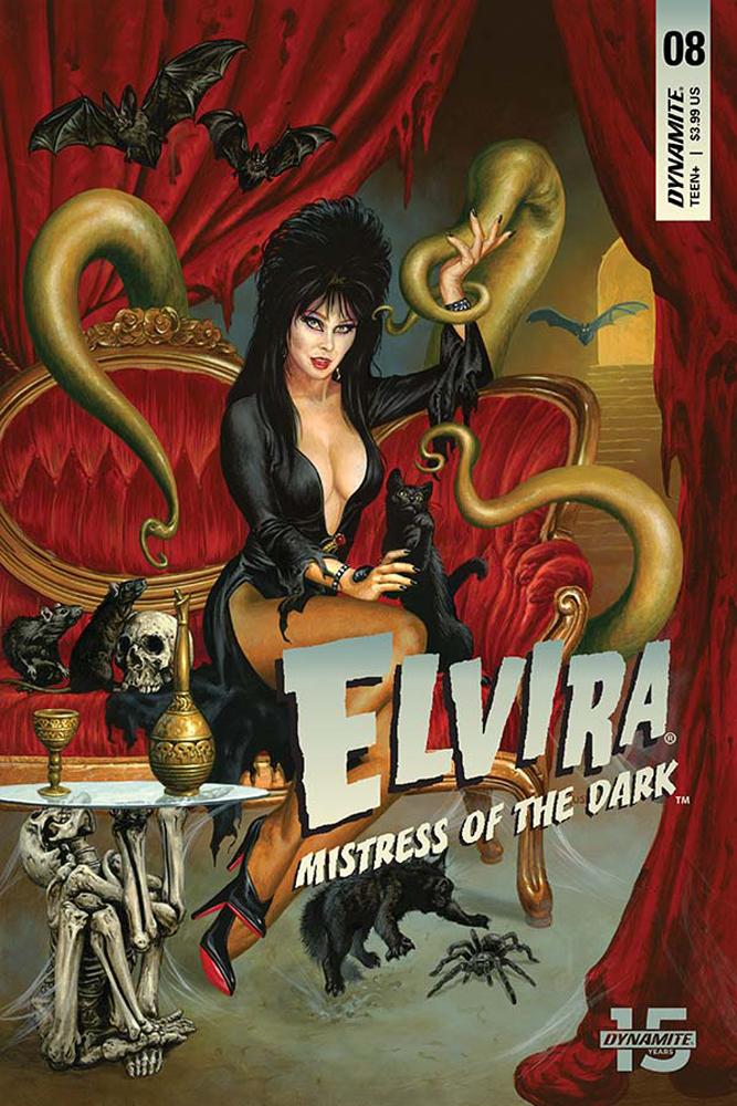 ELVIRA MISTRESS OF DARK #8 CVR A JUSKO