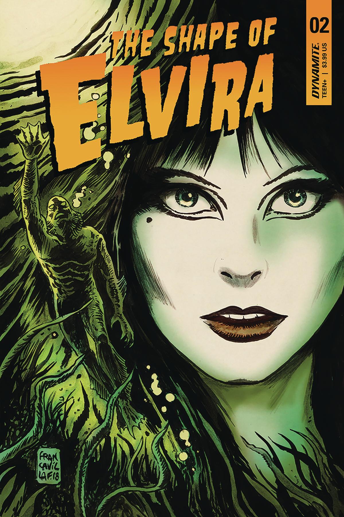 ELVIRA SHAPE OF ELVIRA #2 CVR A FRANCAVILLA