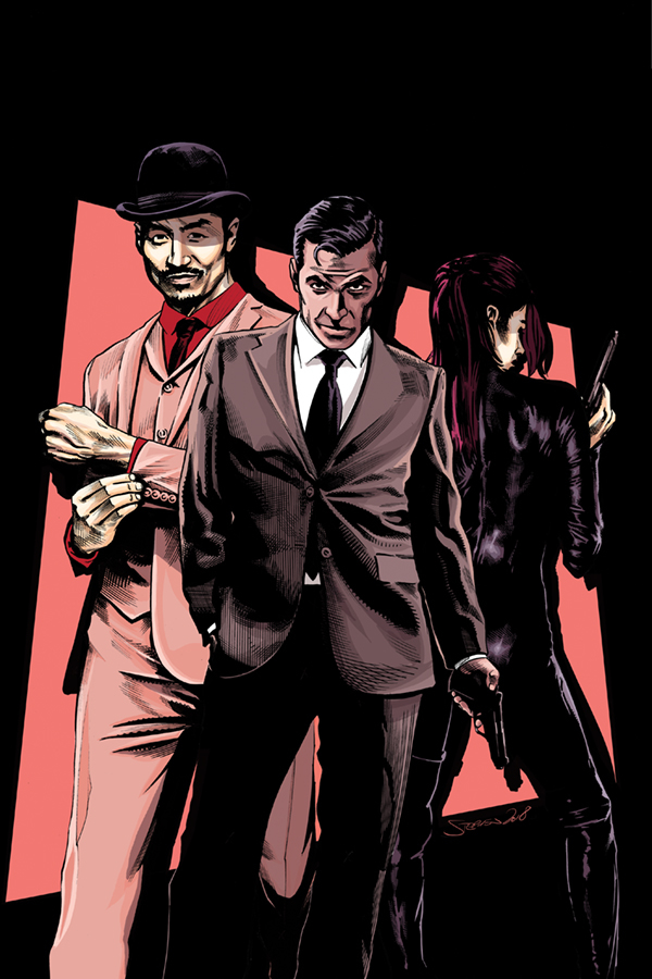 JAMES BOND 007 #4 40 COPY MOONEY VIRGIN INCV