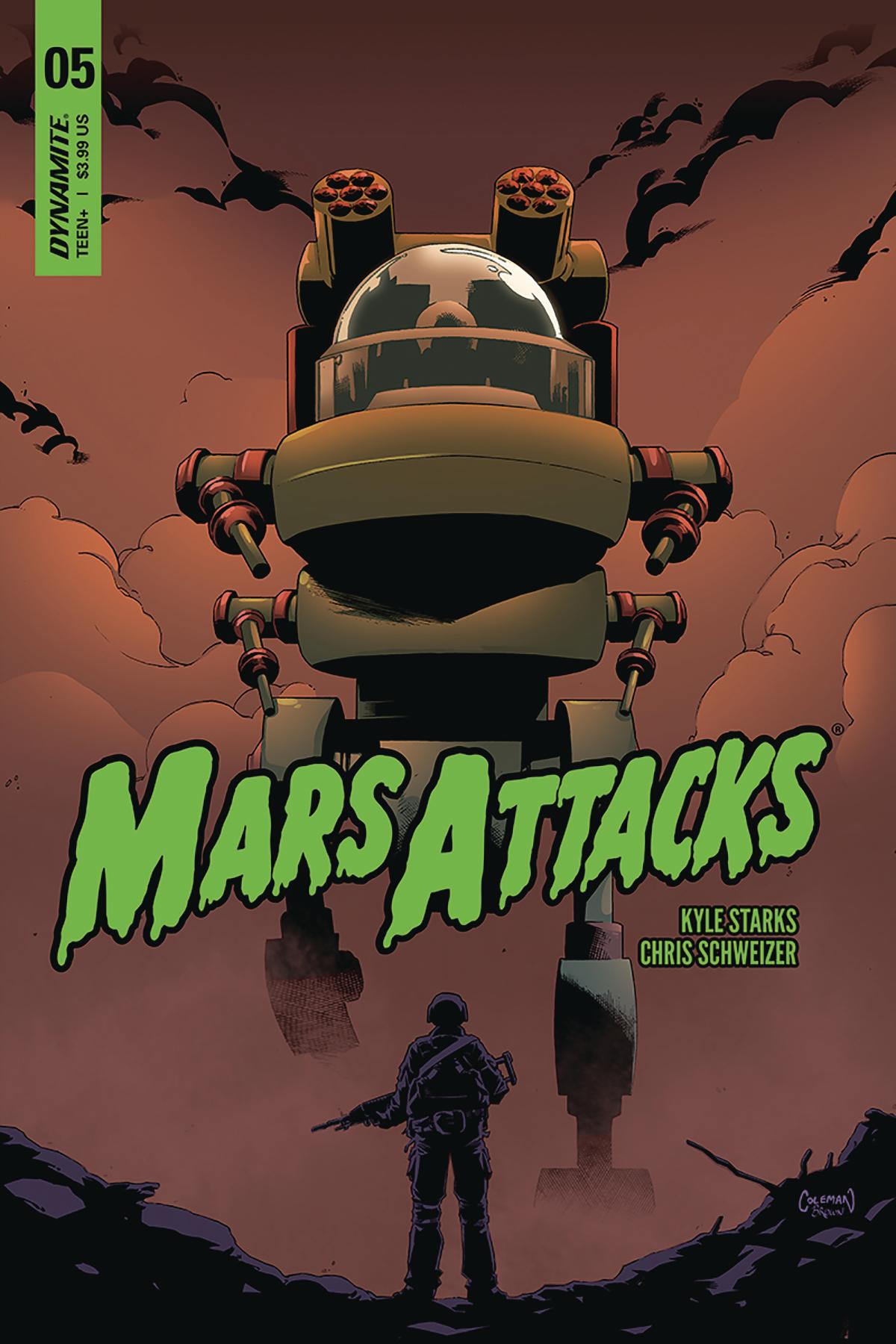 MARS ATTACKS #5 CVR B COLEMAN