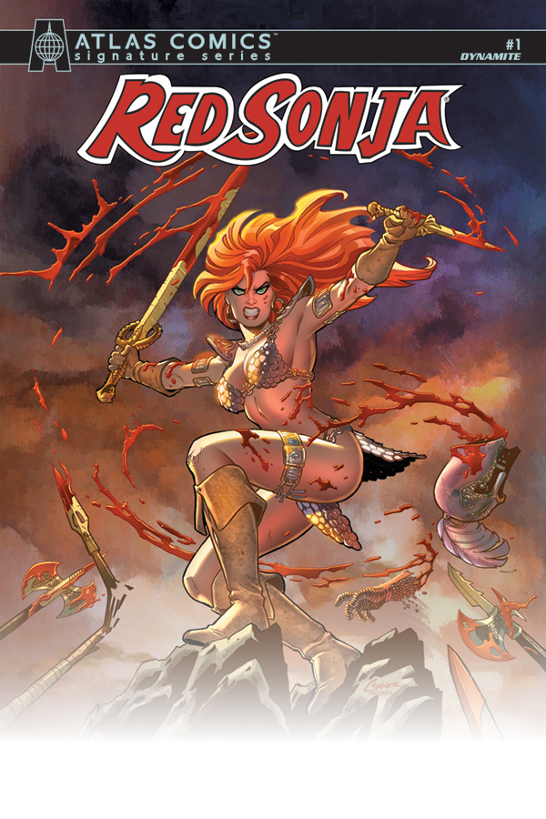 RED SONJA #1 SGN ATLAS ED