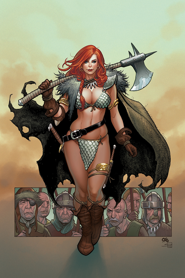 RED SONJA #1 FRANK CHO VIRGIN VAR