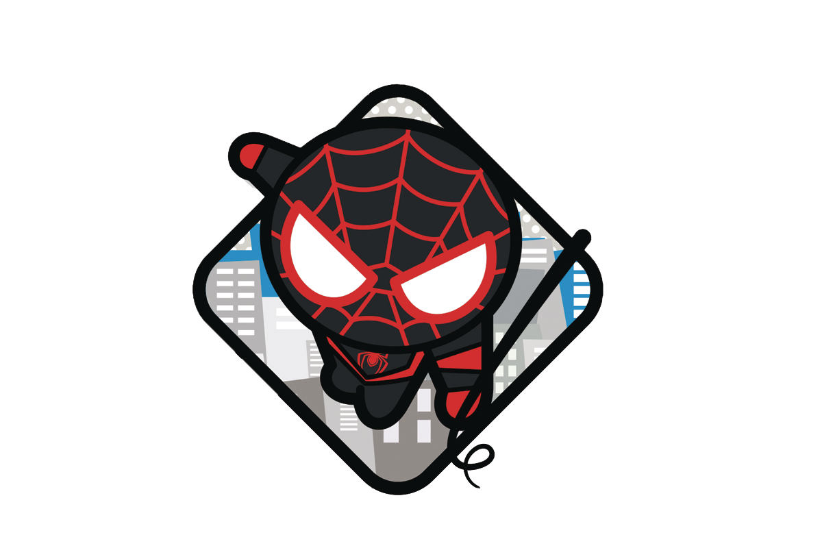 MARVEL KAWAII ULTIMATE SPIDER-MAN PIN