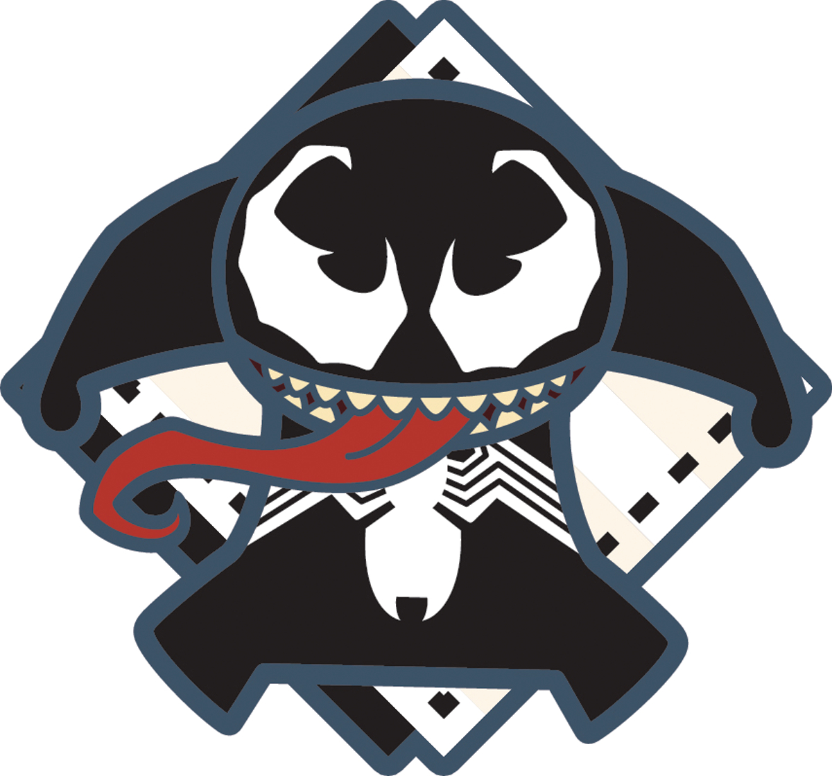MARVEL KAWAII VENOM PIN