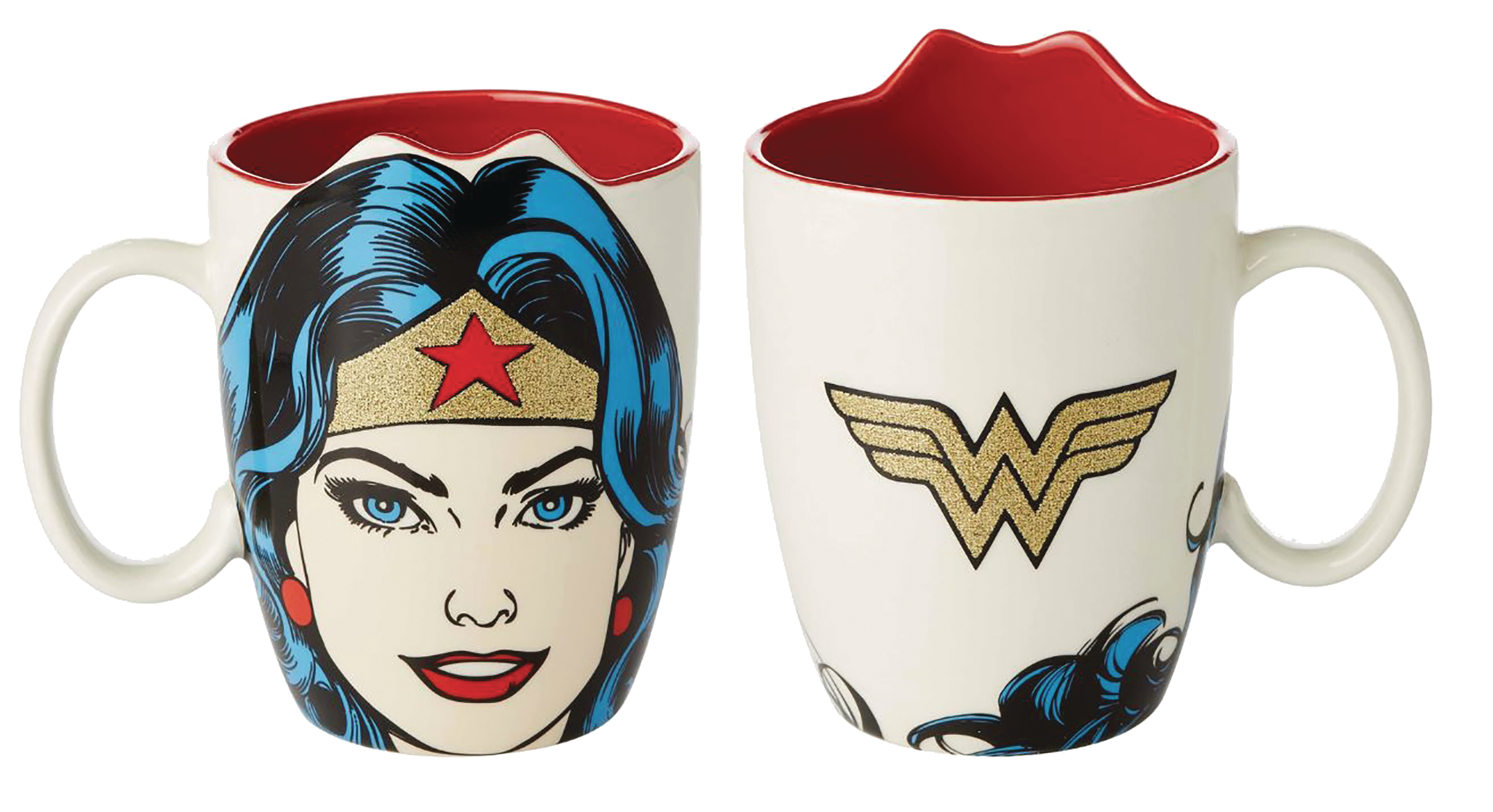 DC HEROES WONDER WOMAN SCULPTED MUG