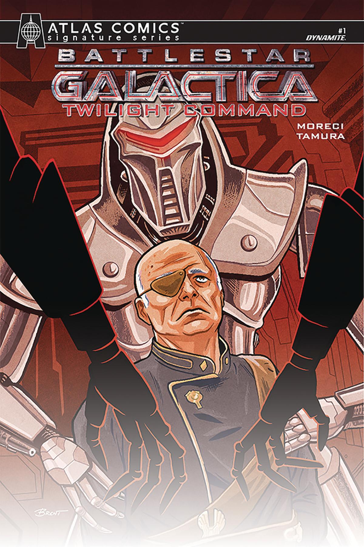 BATTLESTAR GALACTICA TWILIGHT COMMAND #1 SGN ATLAS ED