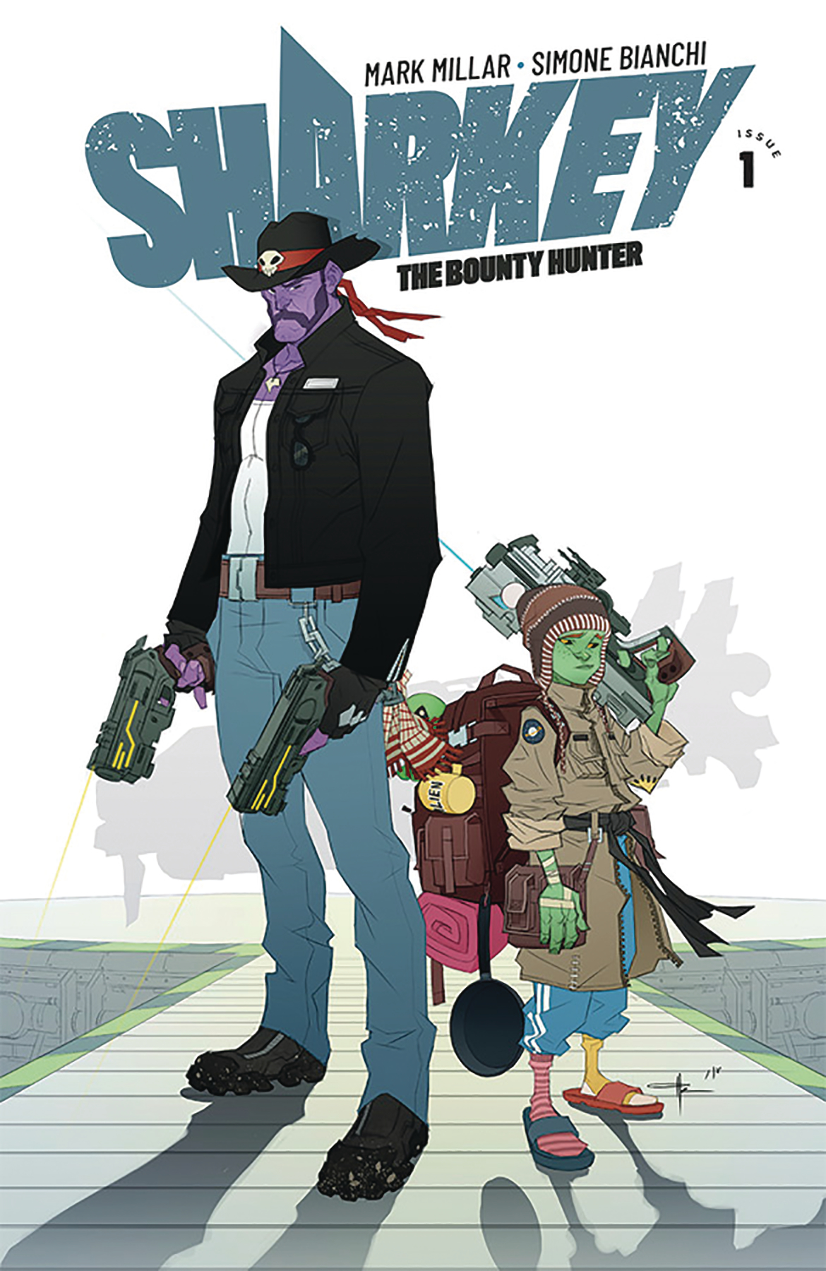 SHARKEY BOUNTY HUNTER #1 (OF 6) CVR E YILDIRIM (MR)