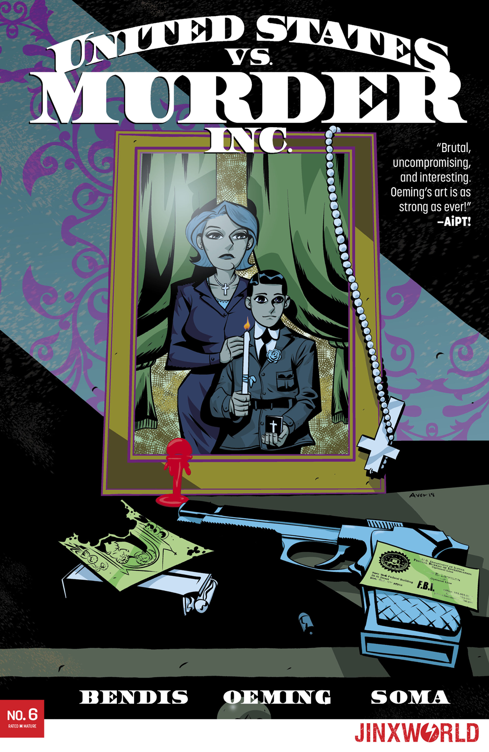 UNITED STATES VS MURDER INC #6 (OF 6) (MR)