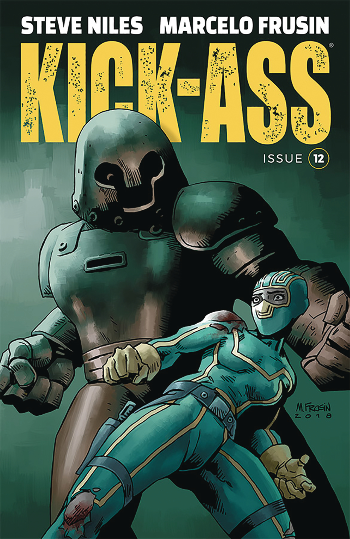 KICK-ASS #12 CVR A FRUSIN (MR)