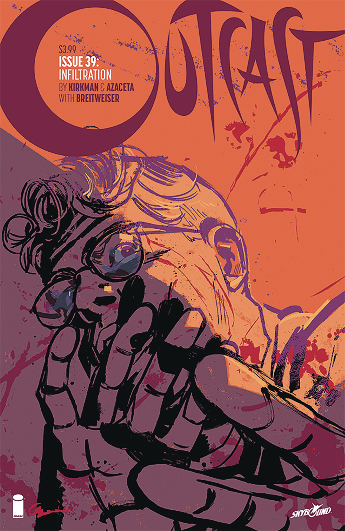 OUTCAST BY KIRKMAN & AZACETA #39 (MR)
