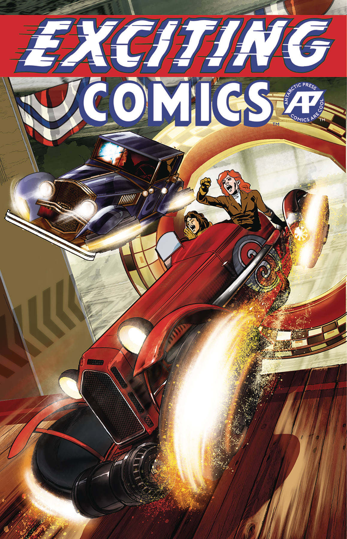 EXCITING COMICS #1 SPEEDWAY VAR CVR (MR)