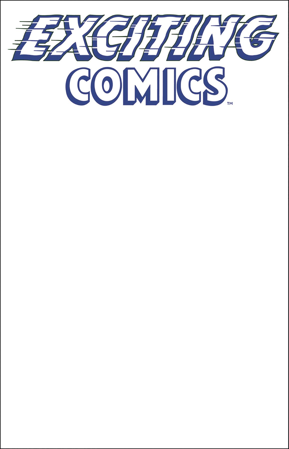 EXCITING COMICS #1 SKETCH VAR CVR (MR)