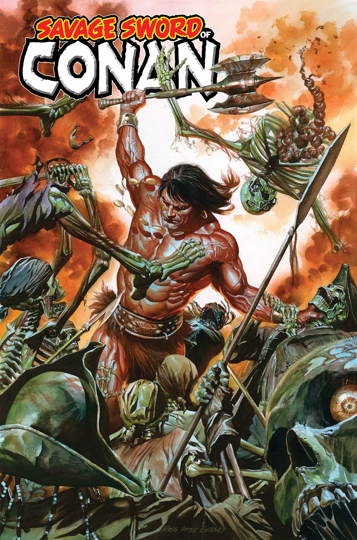 SAVAGE SWORD OF CONAN BY ALEX ROSS POSTER