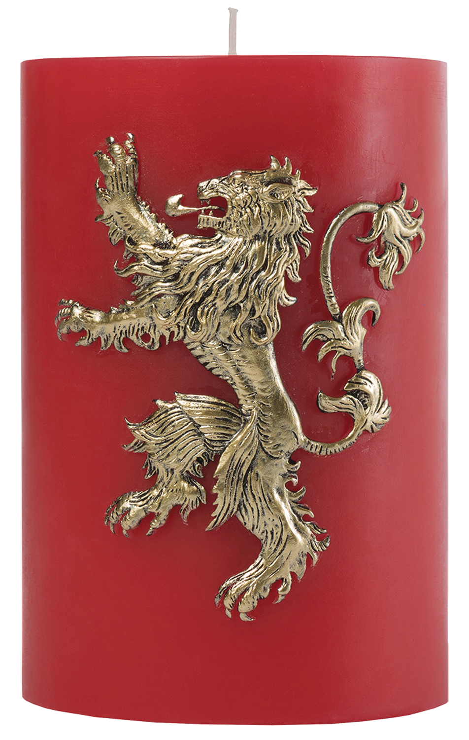 GAME OF THRONES LANNISTER SCULPTED SIGIL CANDLE