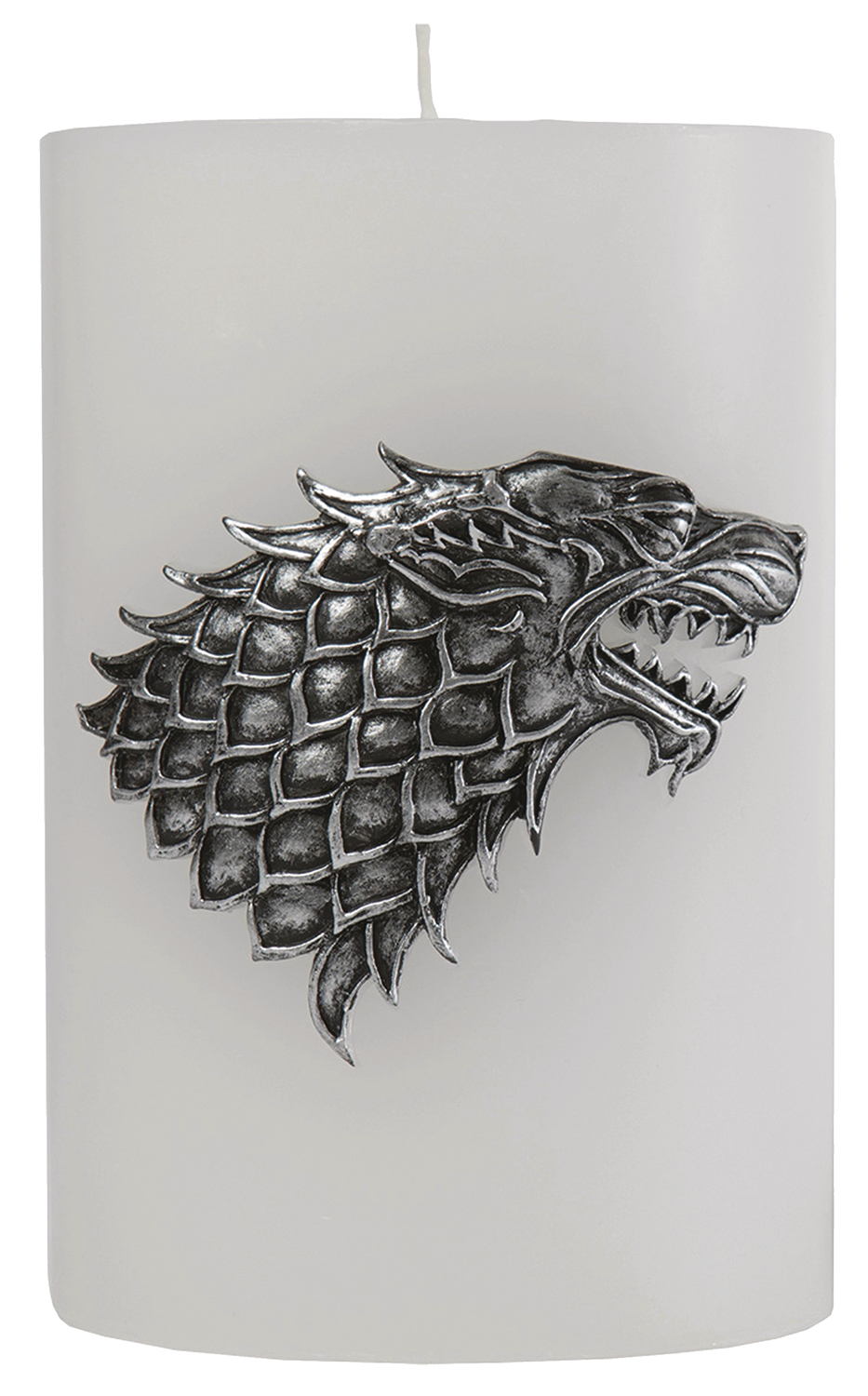 GAME OF THRONES STARK SCULPTED SIGIL CANDLE