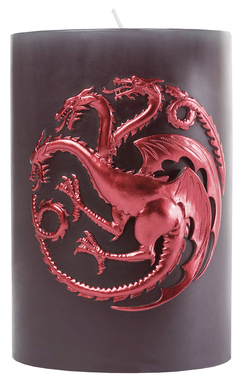 GAME OF THRONES TARGARYEN SCULPTED SIGIL CANDLE