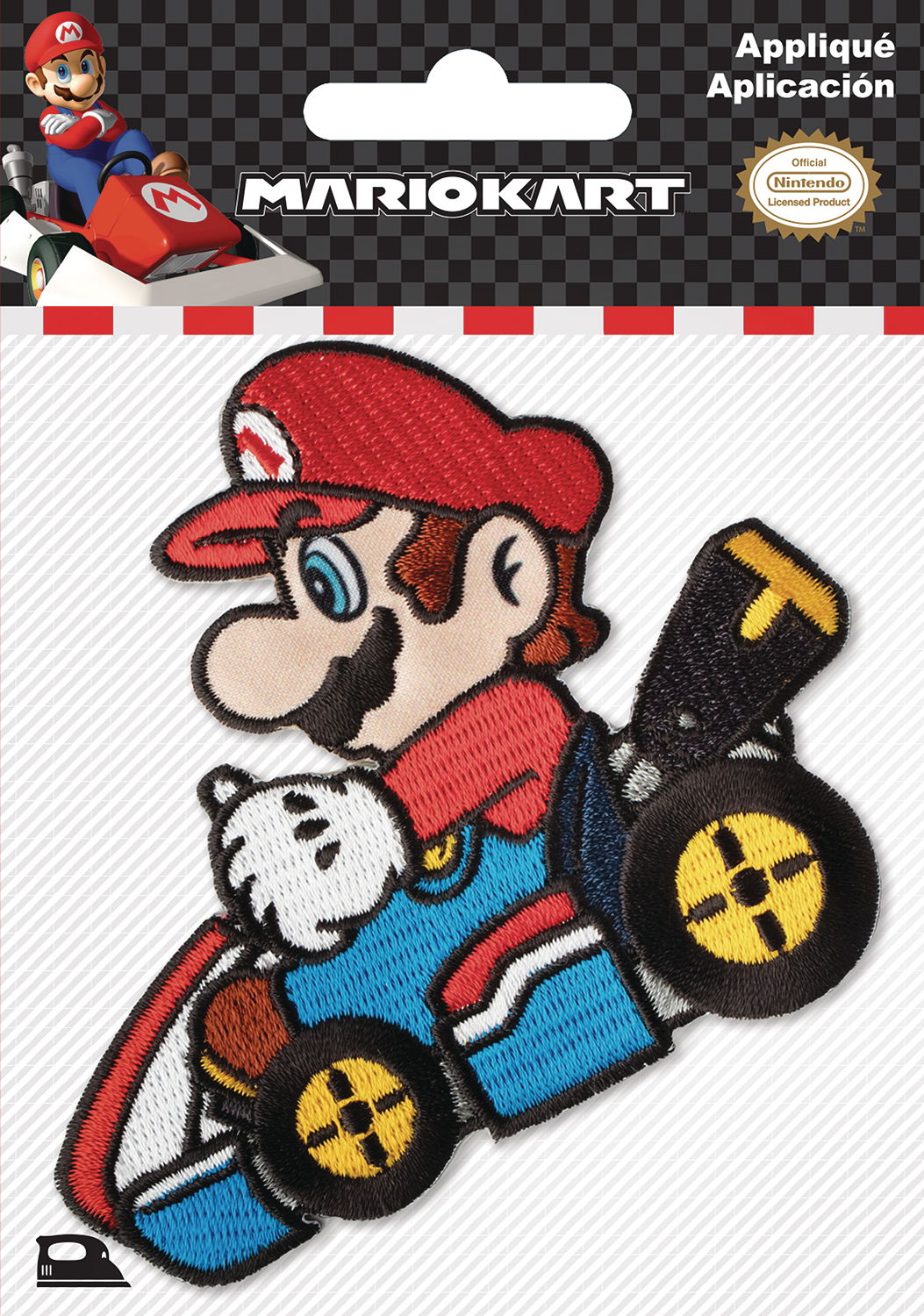 NINTENDO MARIO KART FLAG PATCH