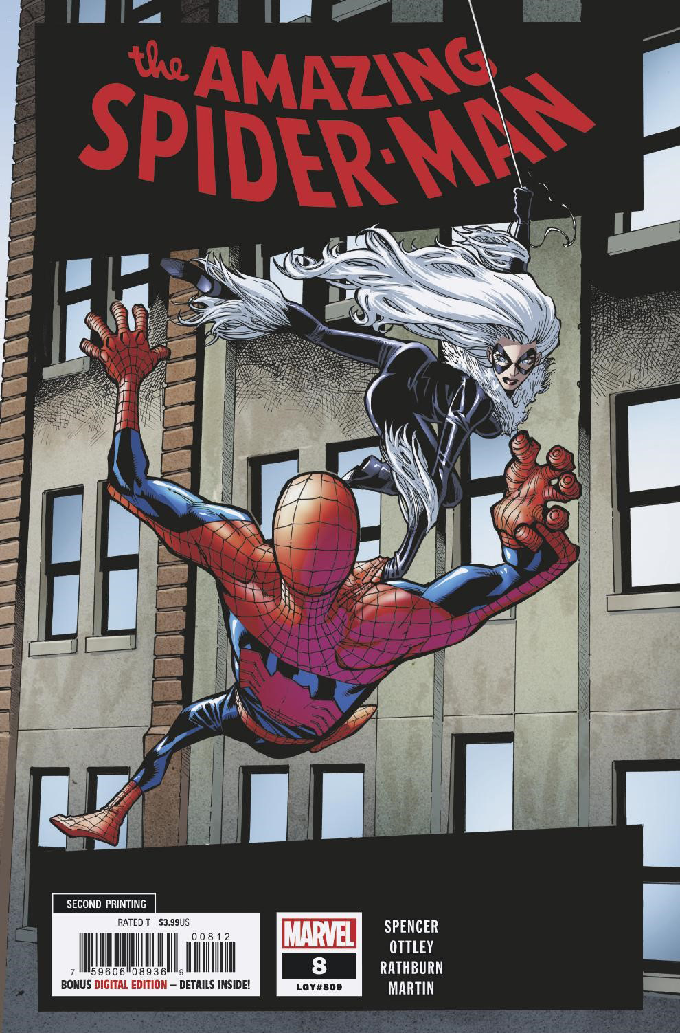 AMAZING SPIDER-MAN #8 2ND PTG RAMOS VAR