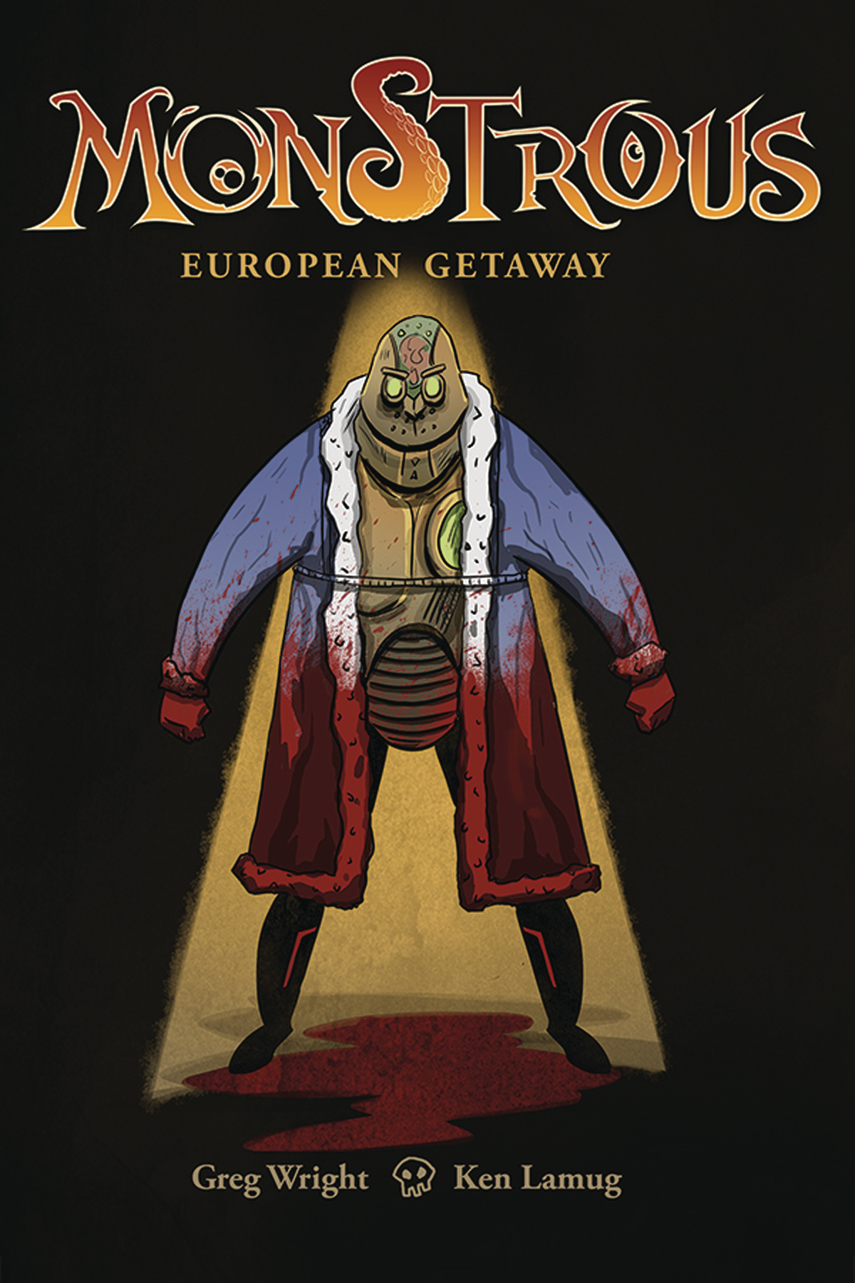 MONSTROUS EUROPEAN GETAWAY #1 (OF 4)