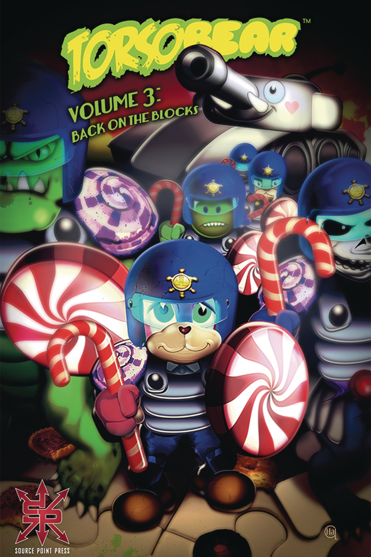 TORSOBEAR TP VOL 03 BACK ON THE BLOCKS (MR)