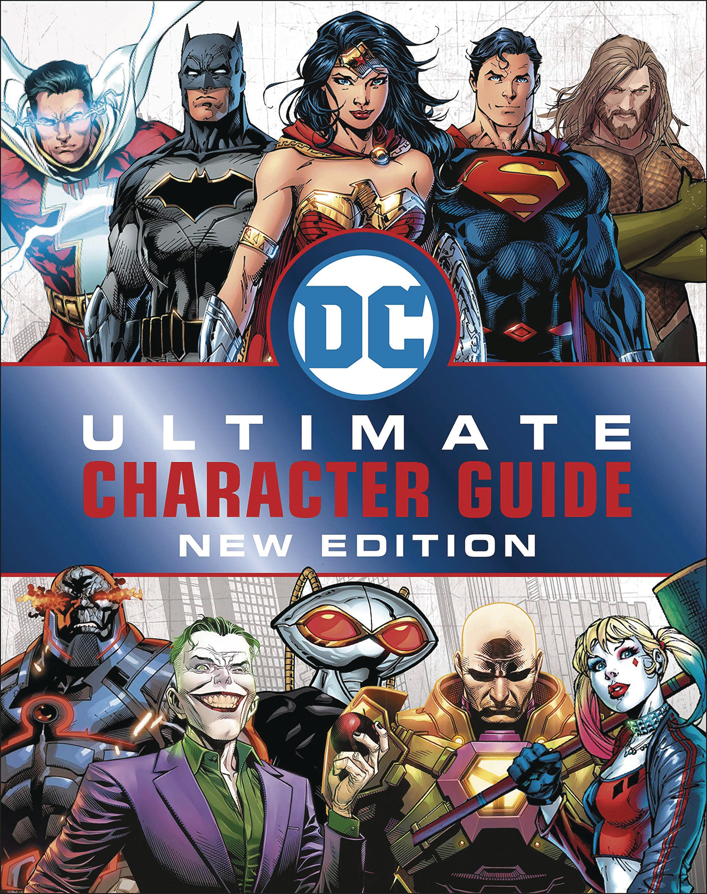 DC COMICS ULTIMATE CHARACTER GUIDE HC NEW ED