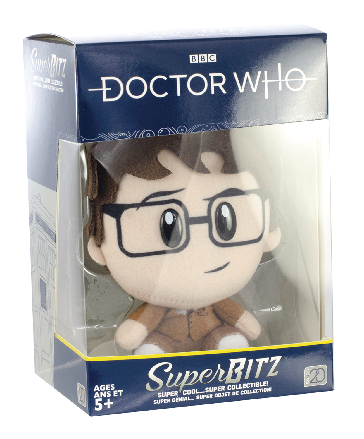 DOCTOR WHO 10TH DOCTOR SUPERBITZ PLUSH