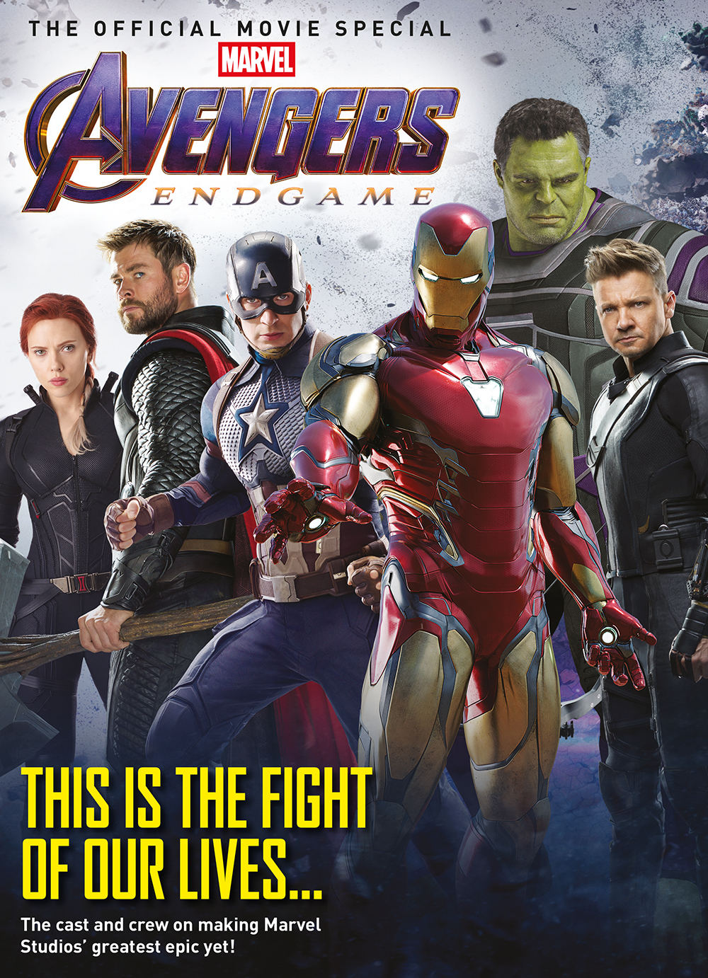 ROAD TO AVENGERS: ENDGAME: OFFICIAL MOVIE SPECIAL MAG NEWSST