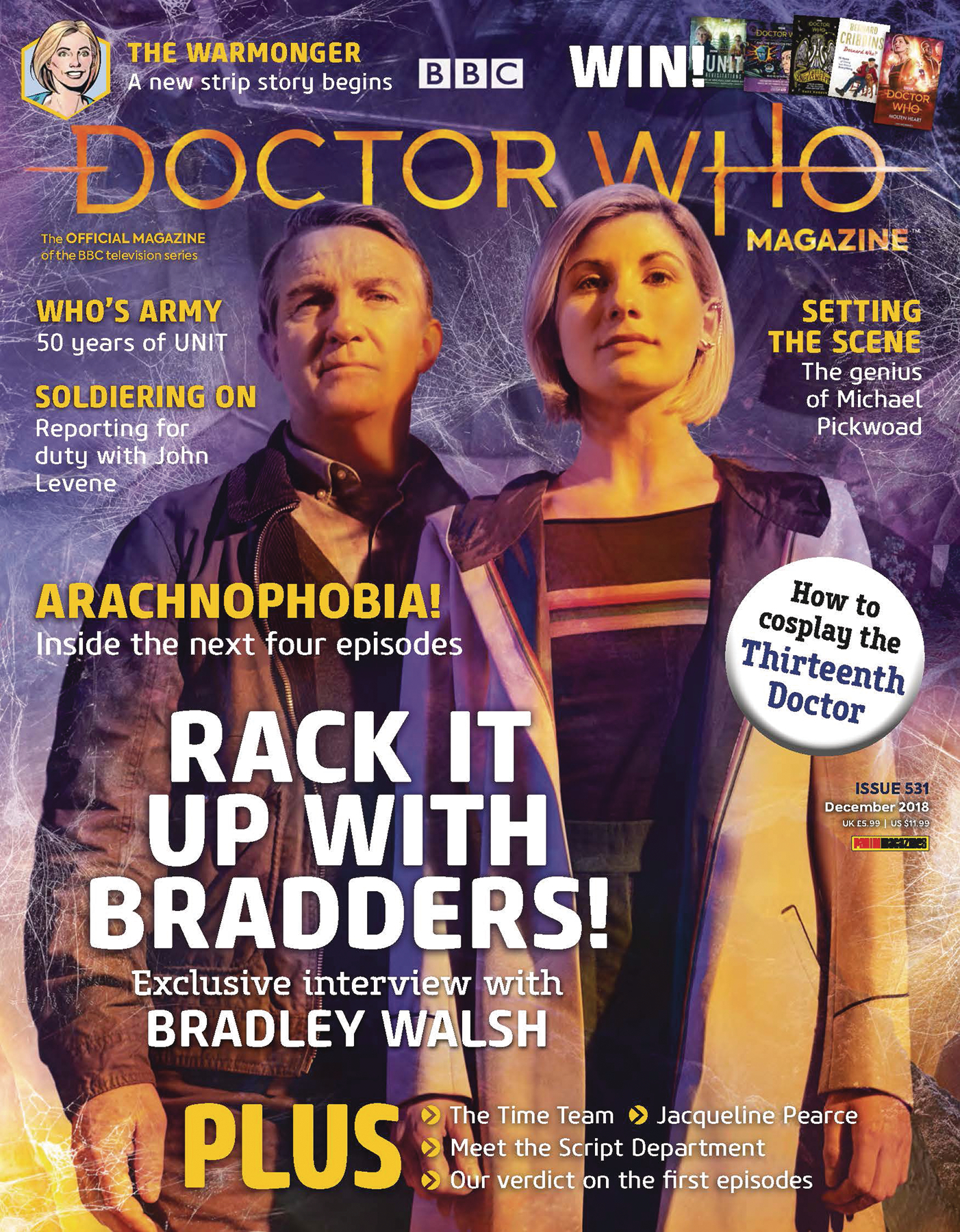 DOCTOR WHO MAGAZINE #536
